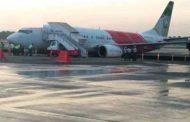 टला हादसा, टैक्सी-वे में अचानक घूमा एयर इंडिया एक्सप्रेस का विमान
