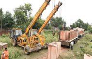 राममंदिर निर्माण के लिए अयोध्या में फिर पहुंचने लगे पत्थर